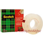 Клейкая лента Scotch Crystal19 мм х 33 м