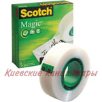 Клейкая лента Scotch Magic19 мм х 33 м